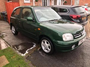 1999 Nissan Micra 1.3 si one owner 16000 miles only