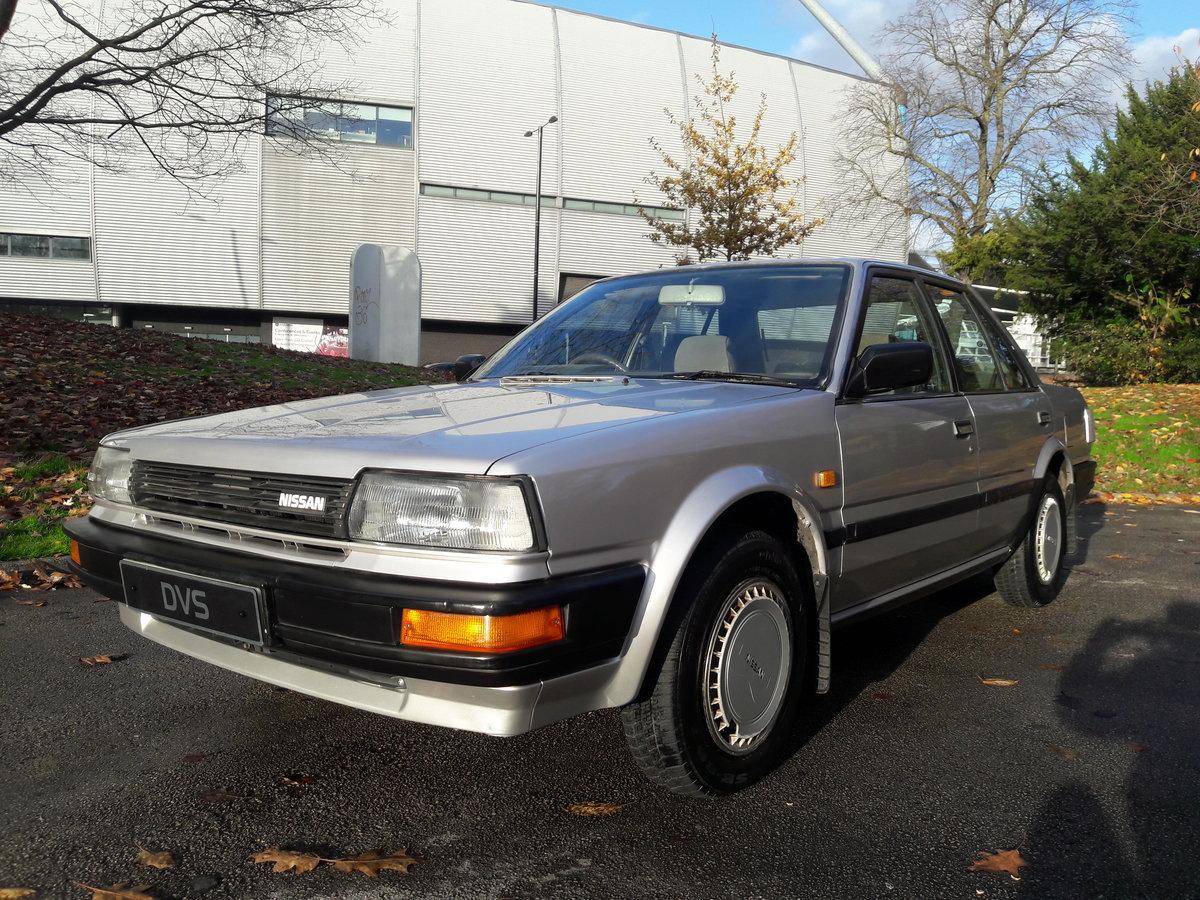 1987 E Reg Nissan Bluebird 1.6 LX, Saloon, 83k Miles *Mint* SOLD (picture 2 of 6)