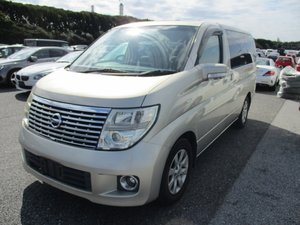 NISSAN ELGRAND 3.5 XL FULL LEATHER TWIN POWER DOORS