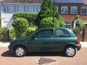 1996 33,136 mile one lady owner Nissan Micra 1.0GX stunning SOLD
