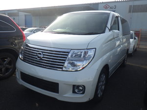 2005 NISSAN ELGRAND 3.5 XL 4X4 FULL LEATHER TWIN POWER DOORS * For Sale