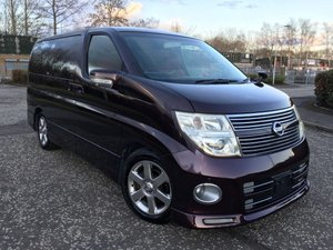 2008 Fresh Import Nissan Elgrand Highway Star 3.5 V6 Auto 8