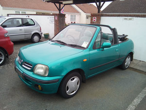 1997 Nissan Micra Canvas Top