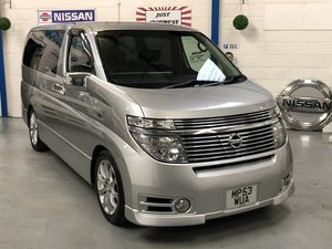 NISSAN ELGRAND E51 3.5 V6 HIGHWAY STAR, Silver, 8 Seater MPV