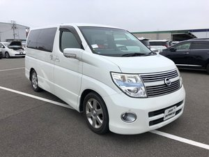 Picture of 2008 NISSAN ELGRAND E51 3.5 V6 HIGHWAY STAR NE51 4WD, Red Leather