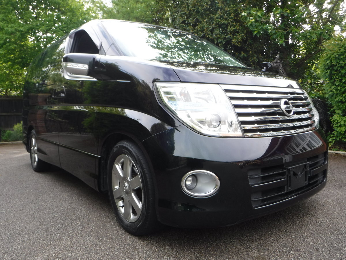 2007 Nissan Elgrand Highway Star 2.5 v6 Tiptronic 7 Seats 5dr For Sale (picture 1 of 6)