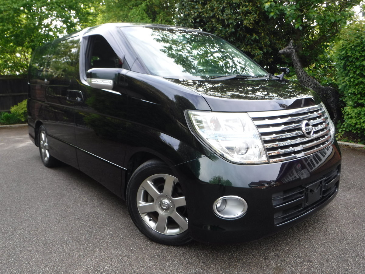 2007 Nissan Elgrand Highway Star 2.5 v6 Tiptronic 7 Seats 5dr For Sale (picture 3 of 6)