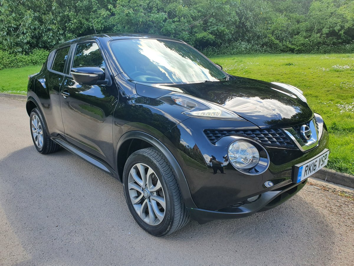2016 Nissan Juke Tekna 1.6 Xtronic.. Nice Spec.. Low Miles.. FSH SOLD (picture 2 of 6)