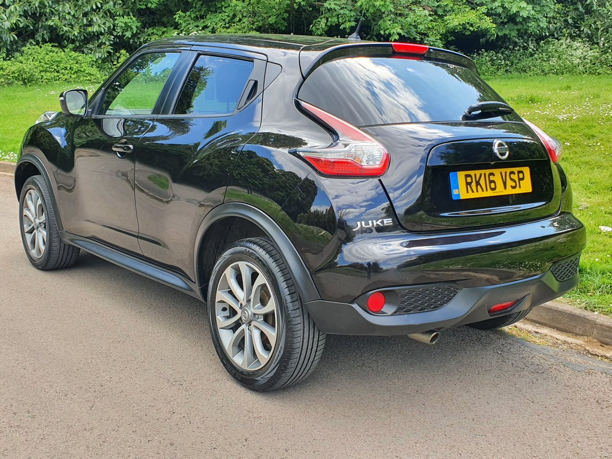 2016 Nissan Juke Tekna 1.6 Xtronic.. Nice Spec.. Low Miles.. FSH SOLD (picture 5 of 6)