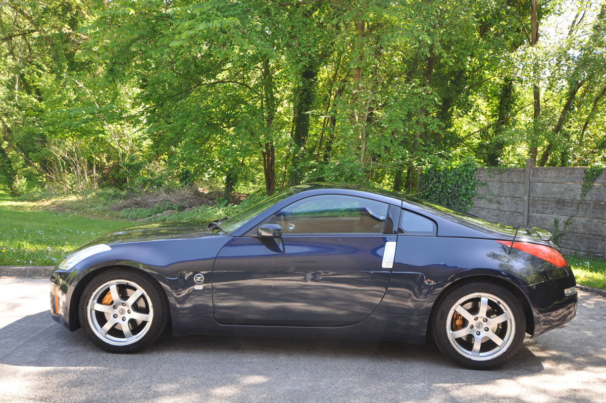 NISSAN 350Z 3.5 V6 GT PACK / 2007 / METALLIC BLUE / FSH For Sale (picture 2 of 6)