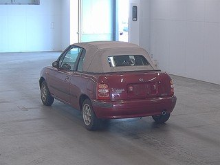NISSAN MICRA RARE 1997 MARCH 1.3 AUTOMATIC CONVERTIBLE For Sale (picture 2 of 3)