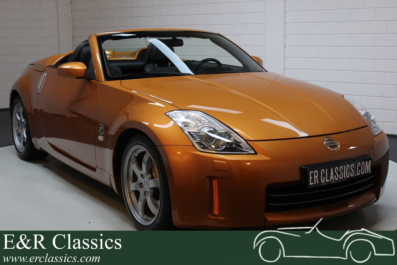 Nissan 350Z Cabriolet 2006 Only 66.219 km For Sale (picture 1 of 6)