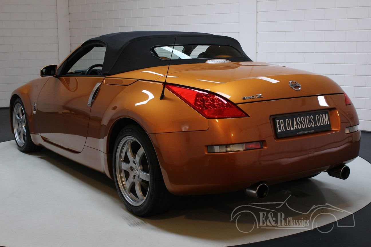 Nissan 350Z Cabriolet 2006 Only 66.219 km For Sale (picture 5 of 6)