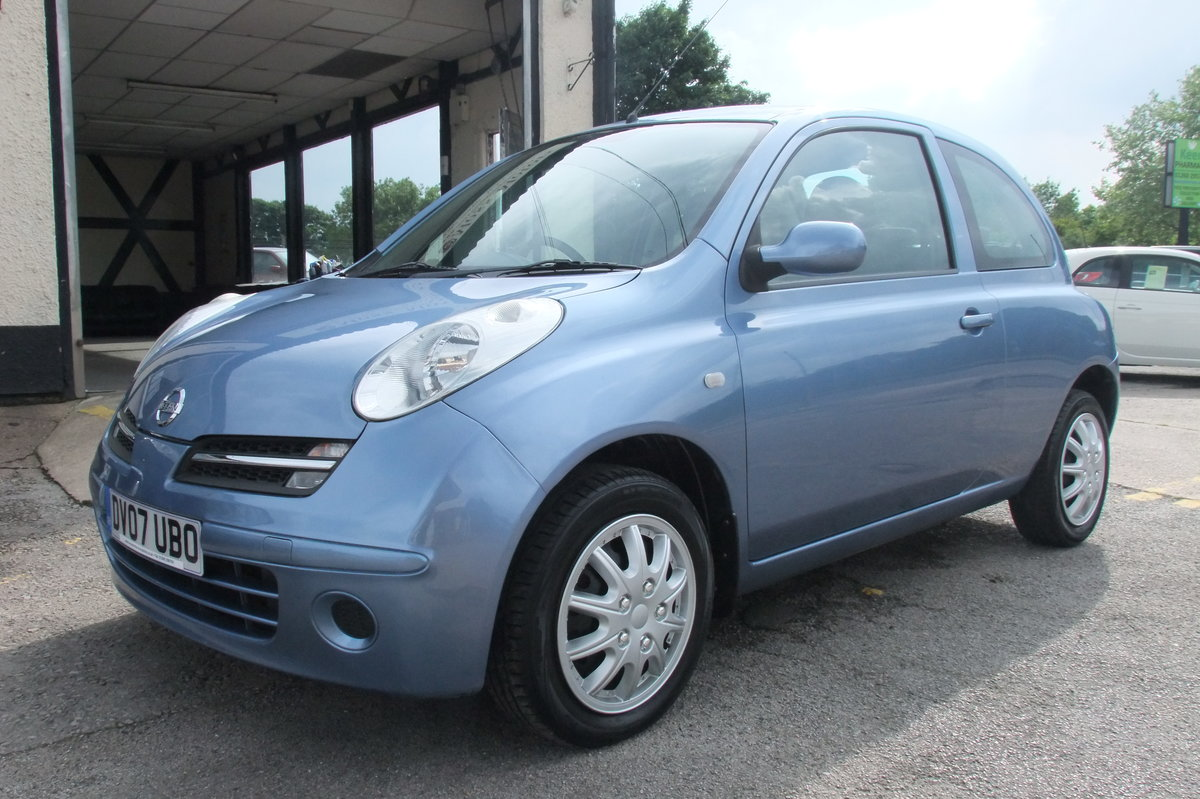 2007 NISSAN MICRA 1.2 SPIRITA 3DR AUTOMATIC SOLD (picture 1 of 6)