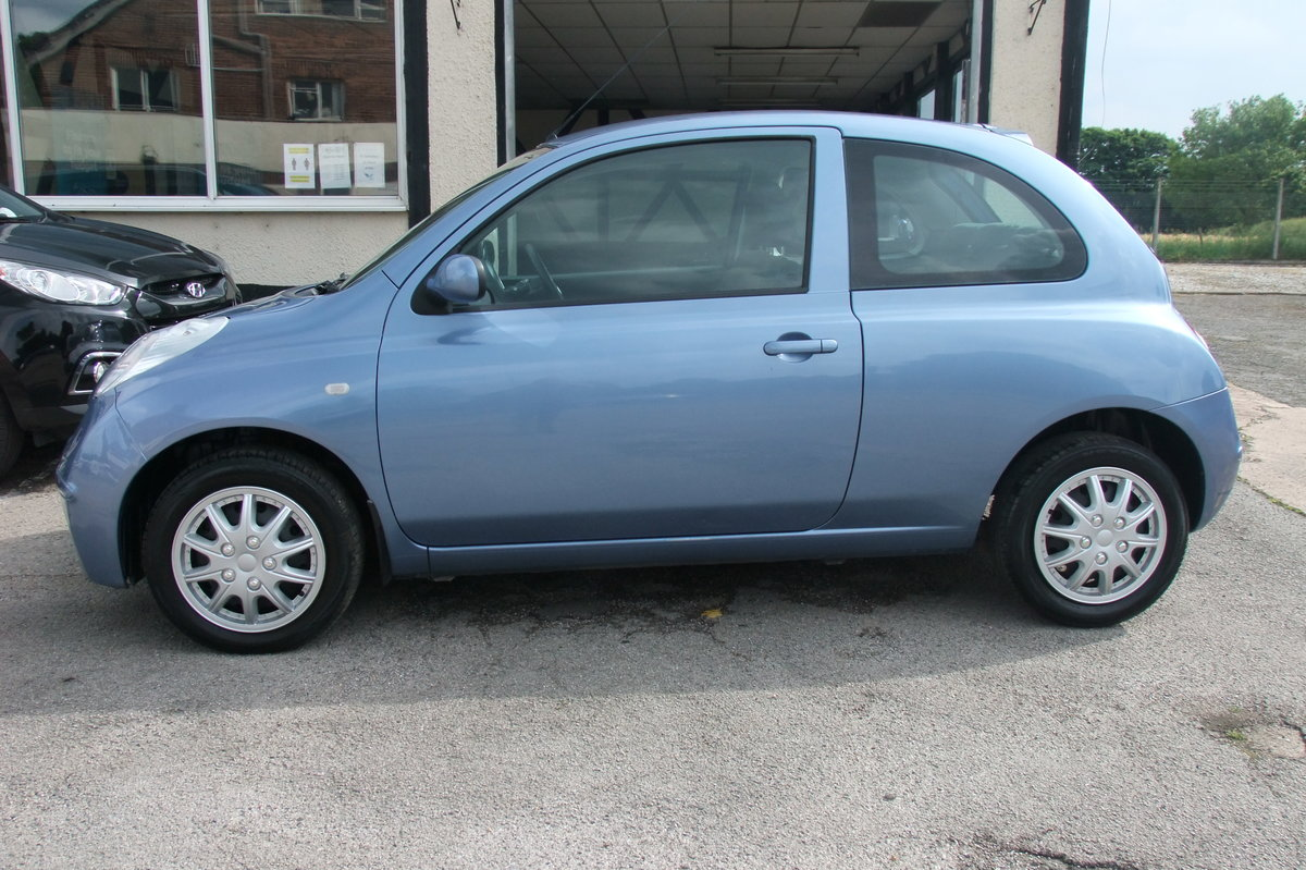 2007 NISSAN MICRA 1.2 SPIRITA 3DR AUTOMATIC SOLD (picture 2 of 6)