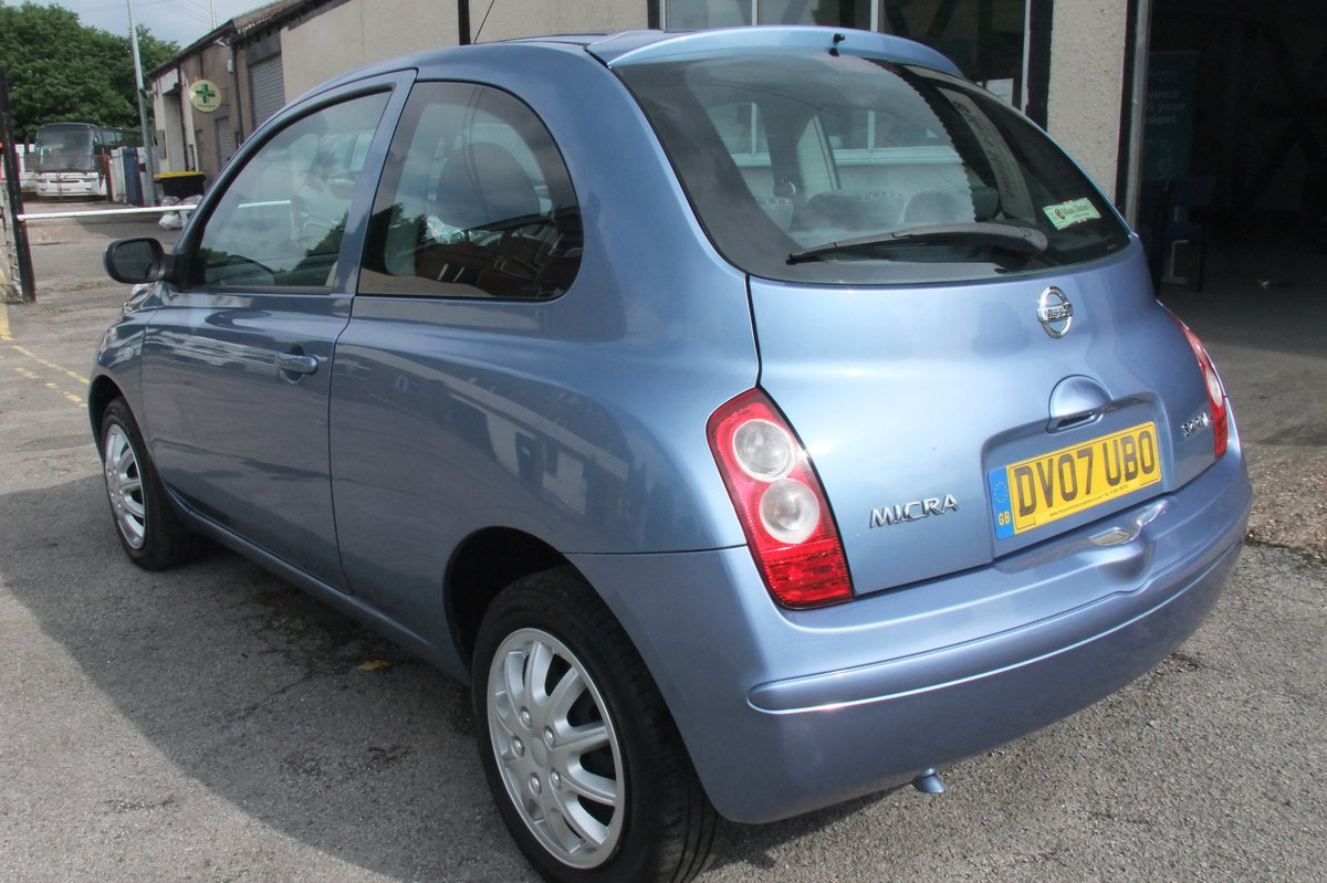 2007 NISSAN MICRA 1.2 SPIRITA 3DR AUTOMATIC SOLD (picture 3 of 6)