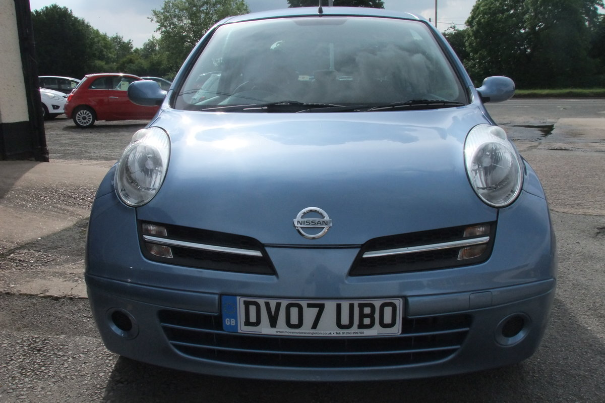 2007 NISSAN MICRA 1.2 SPIRITA 3DR AUTOMATIC SOLD (picture 4 of 6)