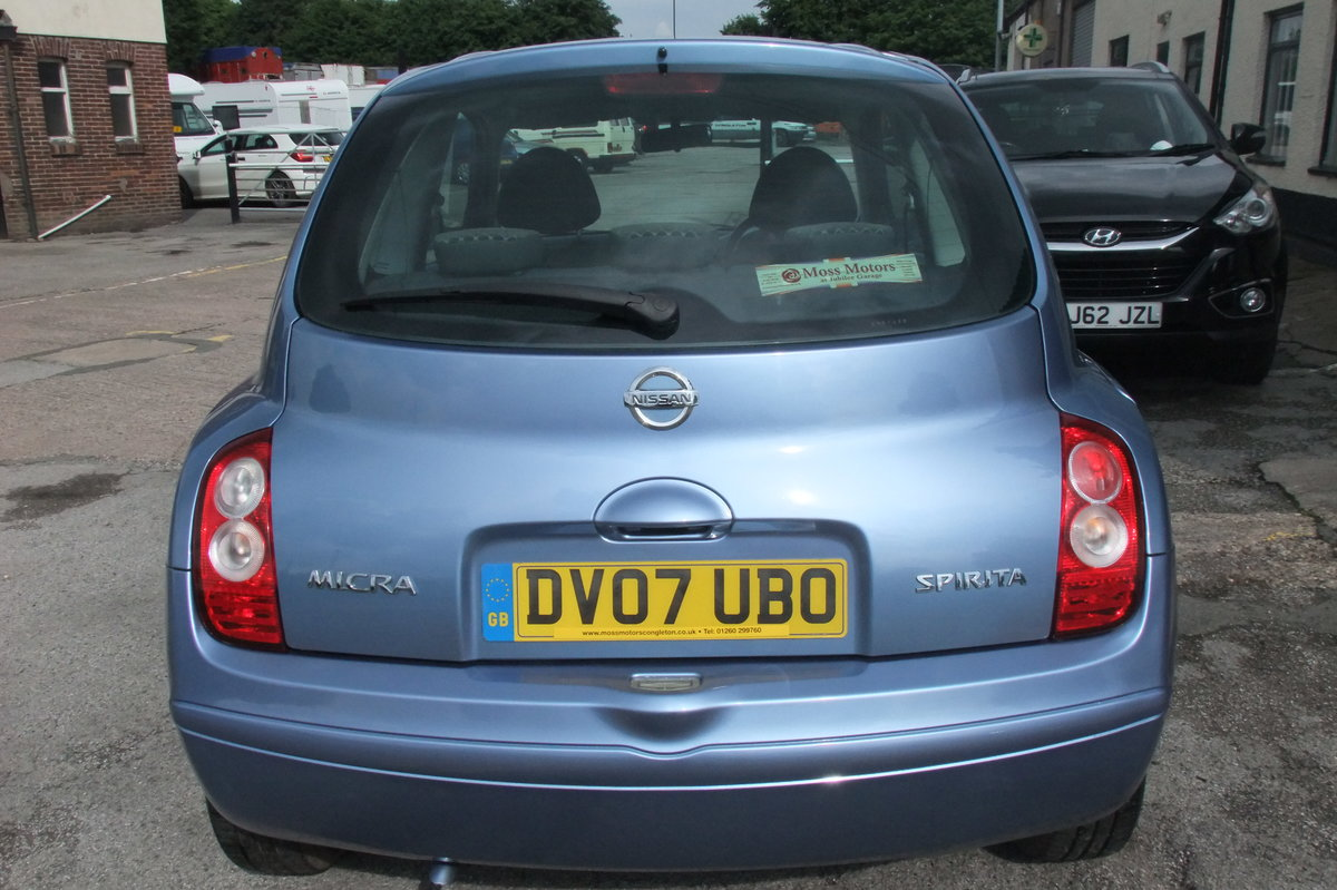 2007 NISSAN MICRA 1.2 SPIRITA 3DR AUTOMATIC SOLD (picture 5 of 6)