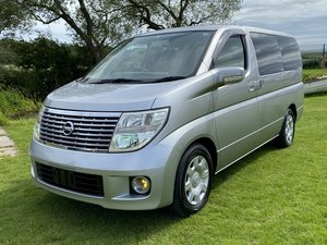 2005 NISSAN ELGRAND 2.5 ENCHANTE 8 SEATER * MOBILITY/ELDERLY ACCE