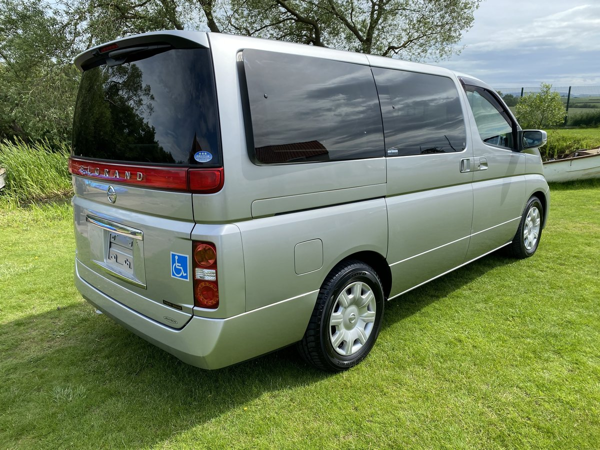 2005 NISSAN ELGRAND 2.5 ENCHANTE 8 SEATER * MOBILITY/ELDERLY ACCE SOLD (picture 2 of 6)