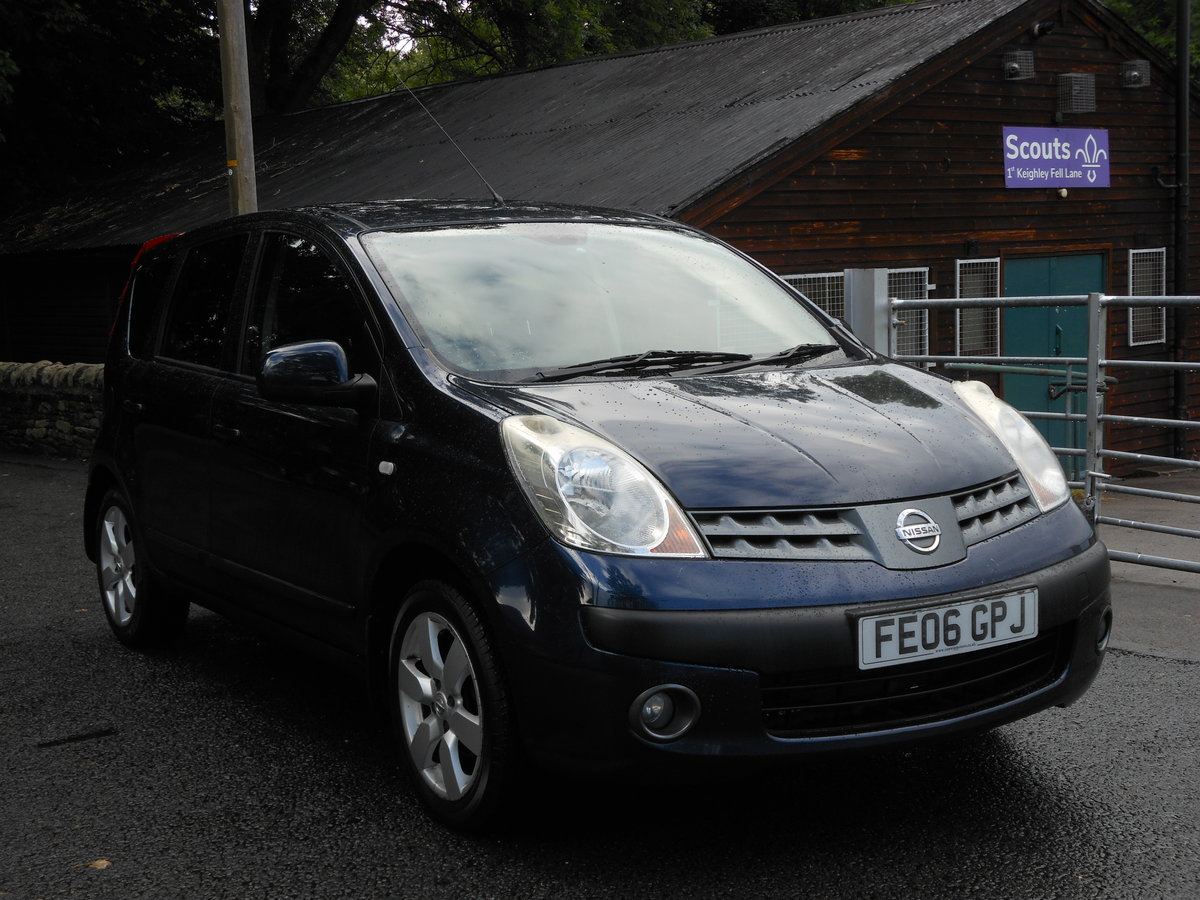 2006 Nissan Note 1.6i-16V SVE Automatic 1 Former + FSH  SOLD (picture 1 of 6)