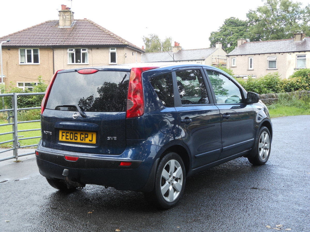 2006 Nissan Note 1.6i-16V SVE Automatic 1 Former + FSH  SOLD (picture 2 of 6)