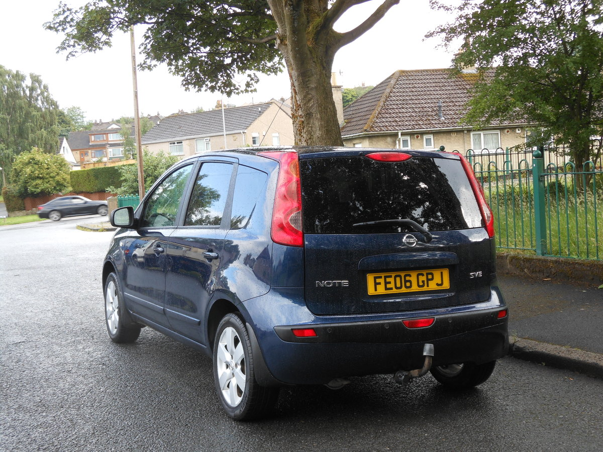 2006 Nissan Note 1.6i-16V SVE Automatic 1 Former + FSH  SOLD (picture 3 of 6)