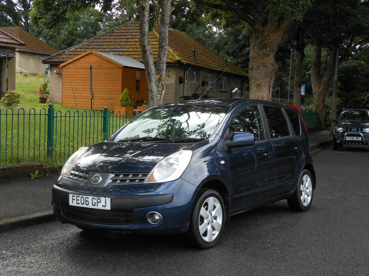 2006 Nissan Note 1.6i-16V SVE Automatic 1 Former + FSH  SOLD (picture 4 of 6)