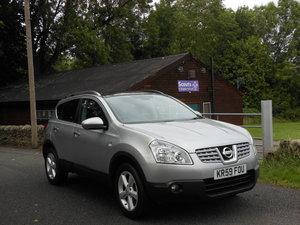 2009 Nissan Qashqai 1.5DCI N-TEC 2WD PANROOF + SAT/NAV + REV