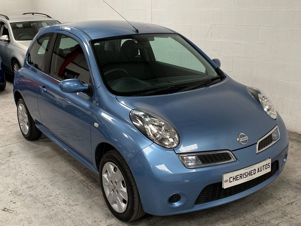 2008 BLUE NISSAN MICRA 1.2 16V ACENTA* GENUINE 39,000 MILES*WOW For Sale (picture 1 of 6)