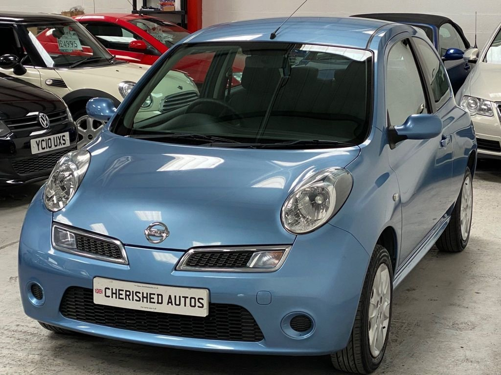 2008 BLUE NISSAN MICRA 1.2 16V ACENTA* GENUINE 39,000 MILES*WOW For Sale (picture 3 of 6)