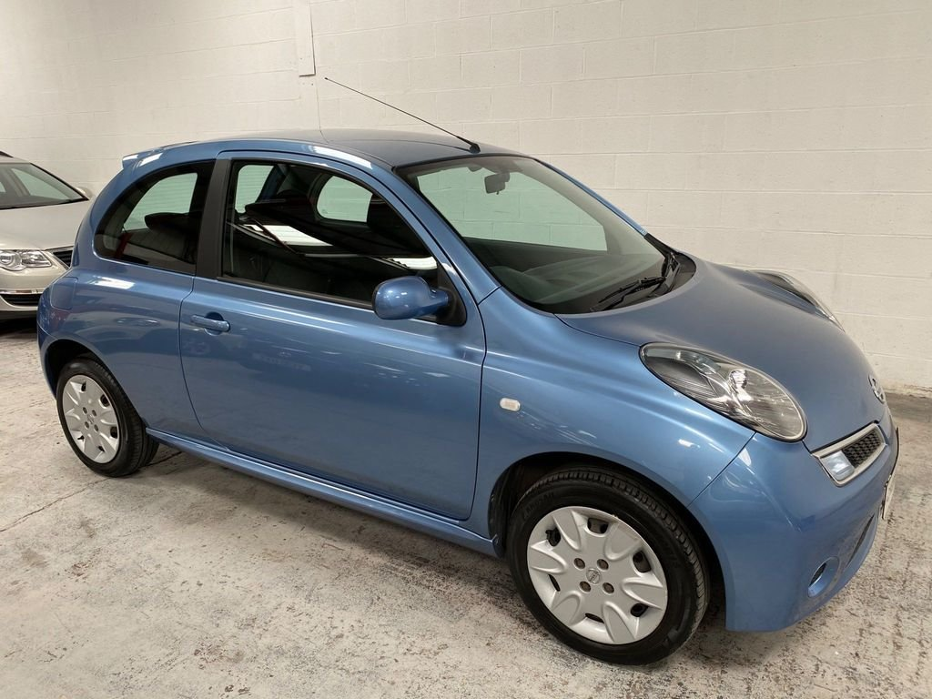 2008 BLUE NISSAN MICRA 1.2 16V ACENTA* GENUINE 39,000 MILES*WOW For Sale (picture 4 of 6)