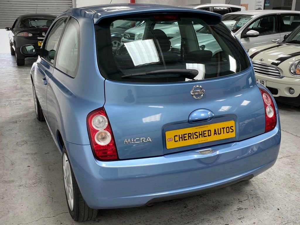 2008 BLUE NISSAN MICRA 1.2 16V ACENTA* GENUINE 39,000 MILES*WOW For Sale (picture 2 of 6)