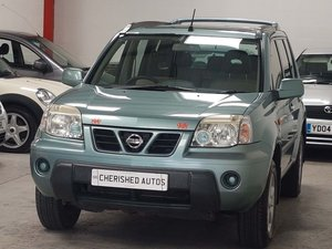 2003 GREY NISSAN X-TRAIL 2.0 SPORT* GENUINE* 60,000 MILES*STUNNER For Sale