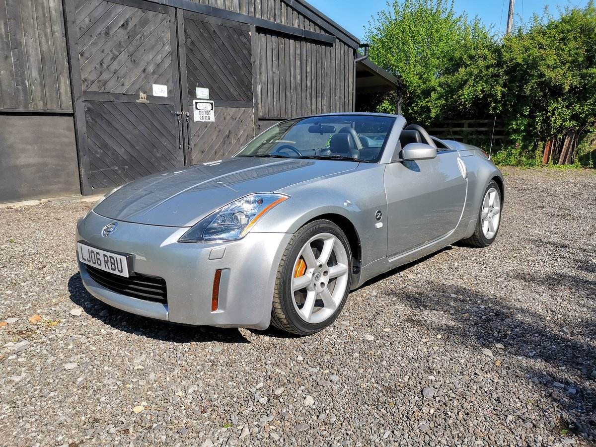 2006 Nissan 350Z Convertible TURBO | 340BHP For Sale (picture 1 of 6)