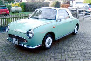 1991 Nissan Figaro for auction 16th - 17th July.