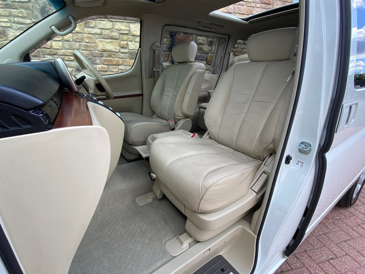 2005 NISSAN ELGRAND 3.5 XL 4X4 FULL LEATHER TWIN POWER DOORS * SOLD (picture 3 of 6)