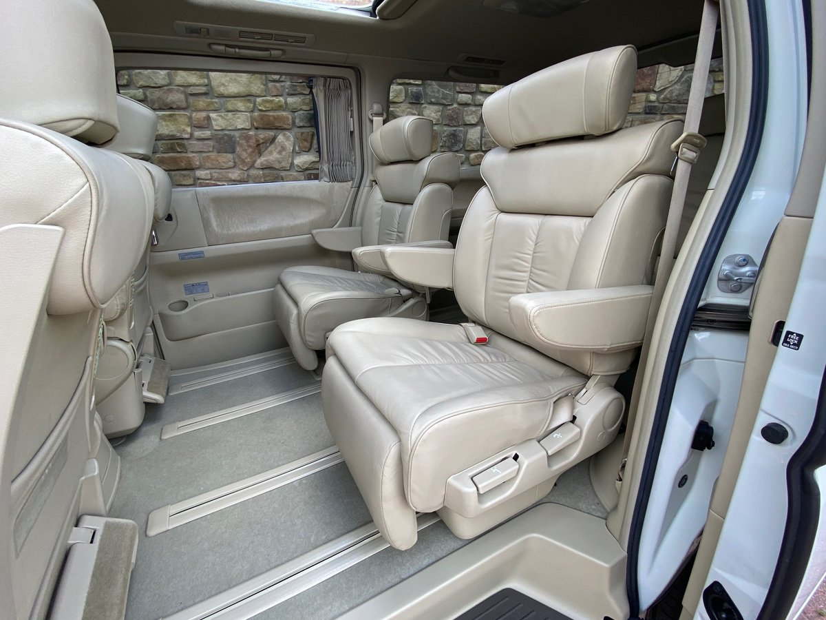 2005 NISSAN ELGRAND 3.5 XL 4X4 FULL LEATHER TWIN POWER DOORS * SOLD (picture 4 of 6)