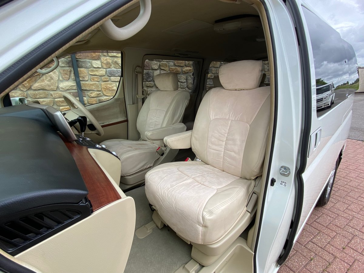 2005 NISSAN ELGRAND 3.5 AUTOMATIC 8 SEATER CAMPER * 33000 MILES * For Sale (picture 3 of 6)