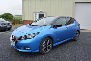 Nearly New Nissan Leaf 40kwh - Full Leather - 140 mile range