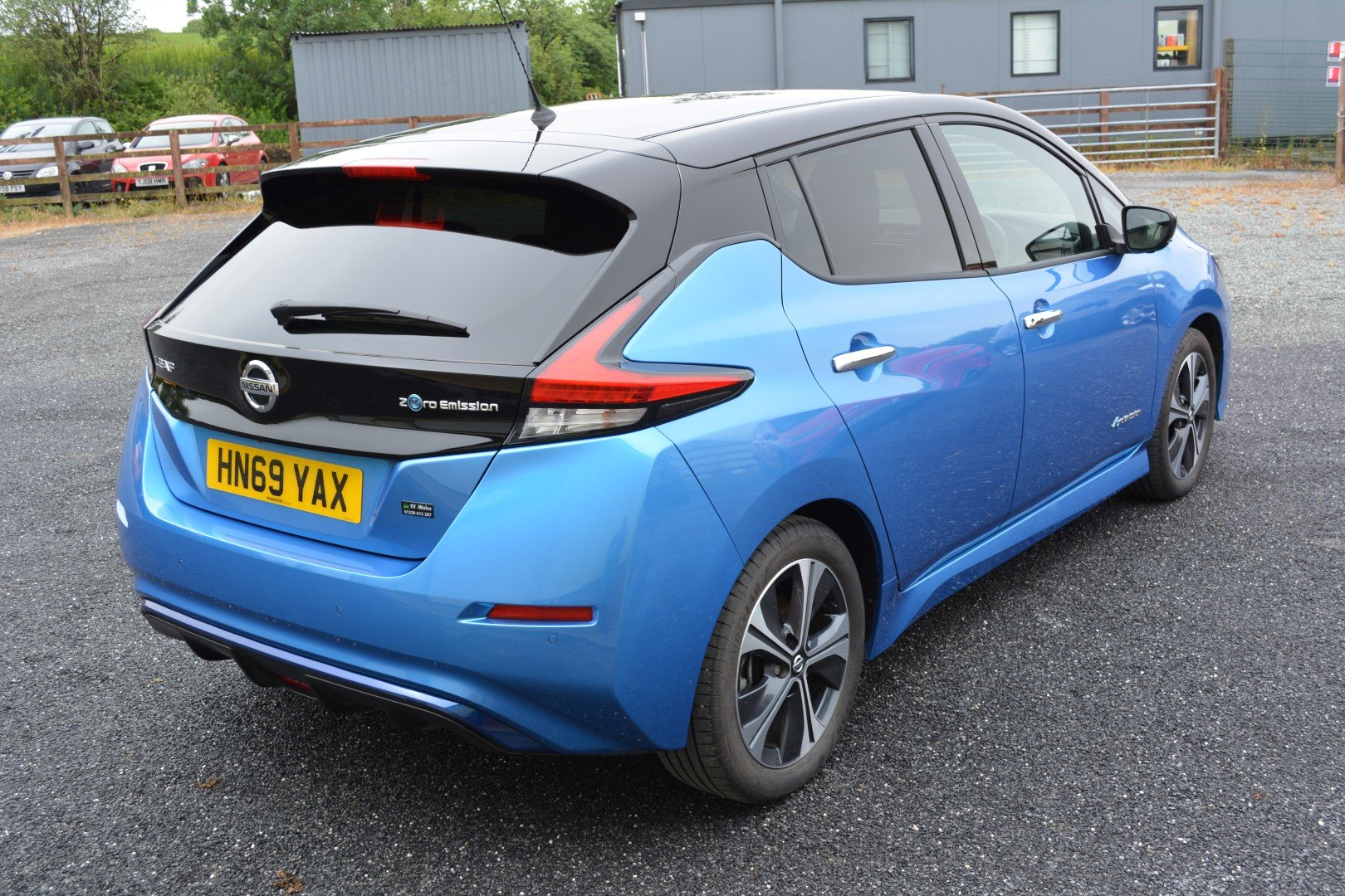 2019 Nearly New Nissan Leaf 40kwh - Full Leather - 140 mile range For Sale (picture 2 of 6)