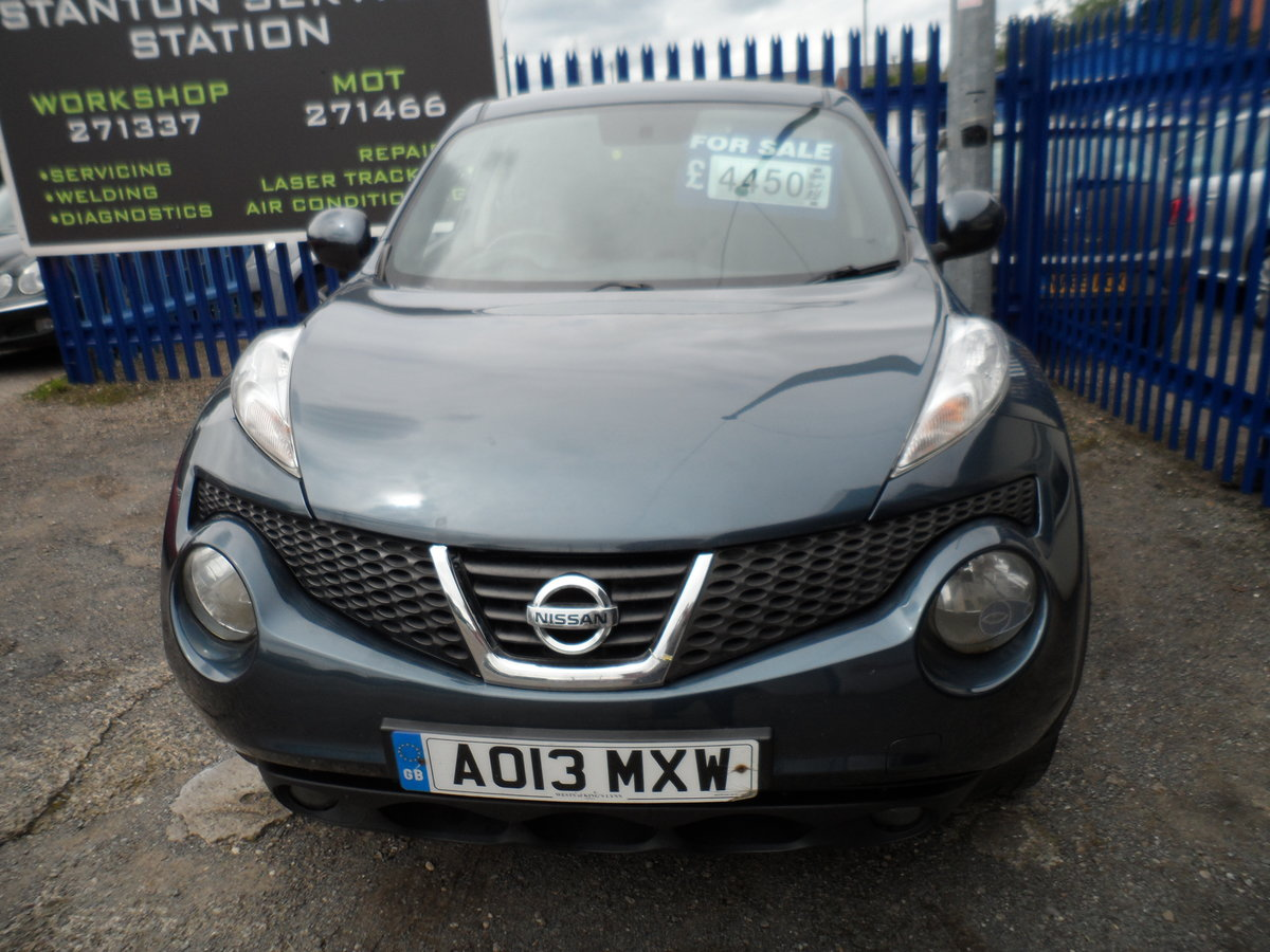2013 BIG MILES LOW PRICE NISSAN JUKE PREMIUM 1600 PETROL 115,000 For Sale (picture 1 of 6)
