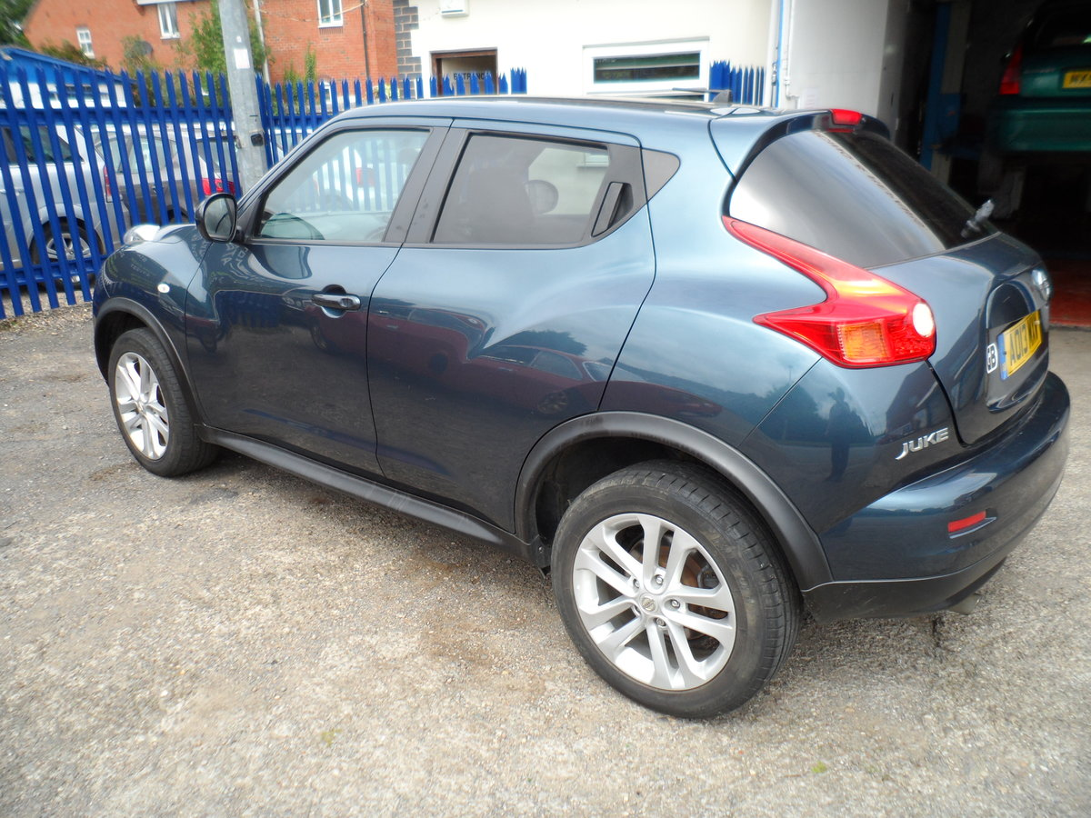 2013 BIG MILES LOW PRICE NISSAN JUKE PREMIUM 1600 PETROL 115,000 For Sale (picture 2 of 6)