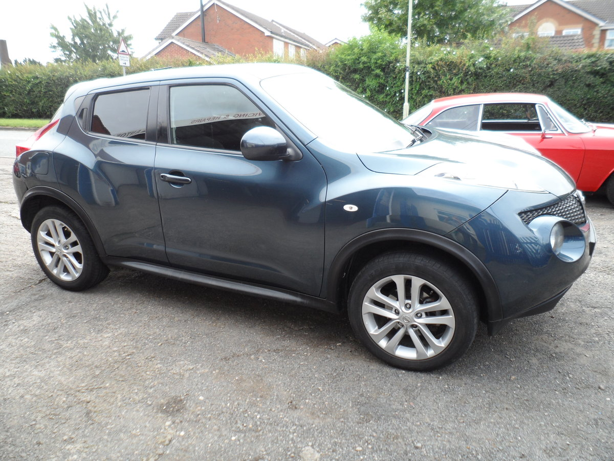 2013 BIG MILES LOW PRICE NISSAN JUKE PREMIUM 1600 PETROL 115,000 For Sale (picture 3 of 6)