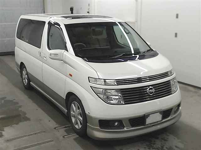 2003 NISSAN ELGRAND 3.5 X 8 SEATER 4X4 TWIN SUNROOFS * LOW MILES For Sale (picture 1 of 3)