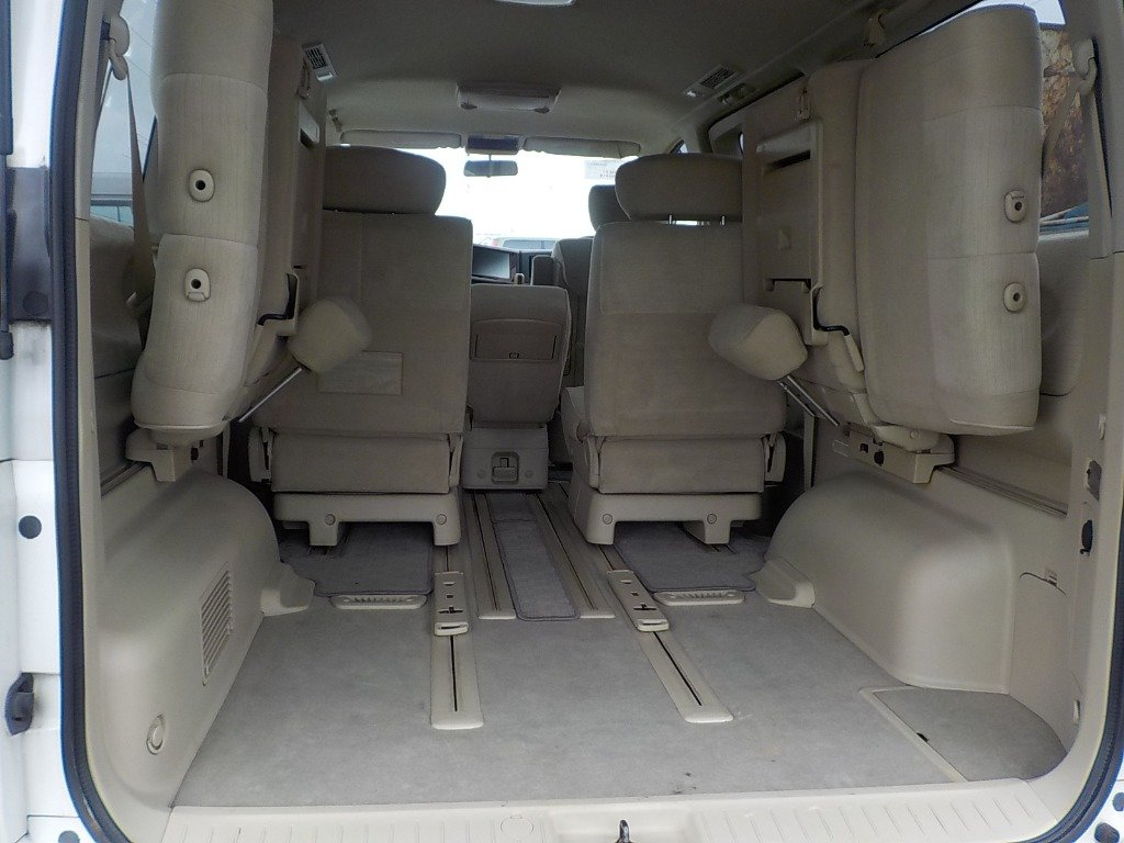 2007 NISSAN ELGRAND 3.5 X 4X4 AUTOMATIC * 8 SEATER * PEARL WHITE For Sale (picture 6 of 6)
