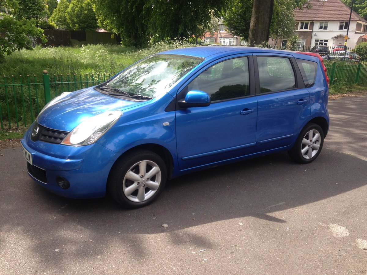 2008 Nissan note 1.4l, long mot & full service history SOLD (picture 1 of 6)