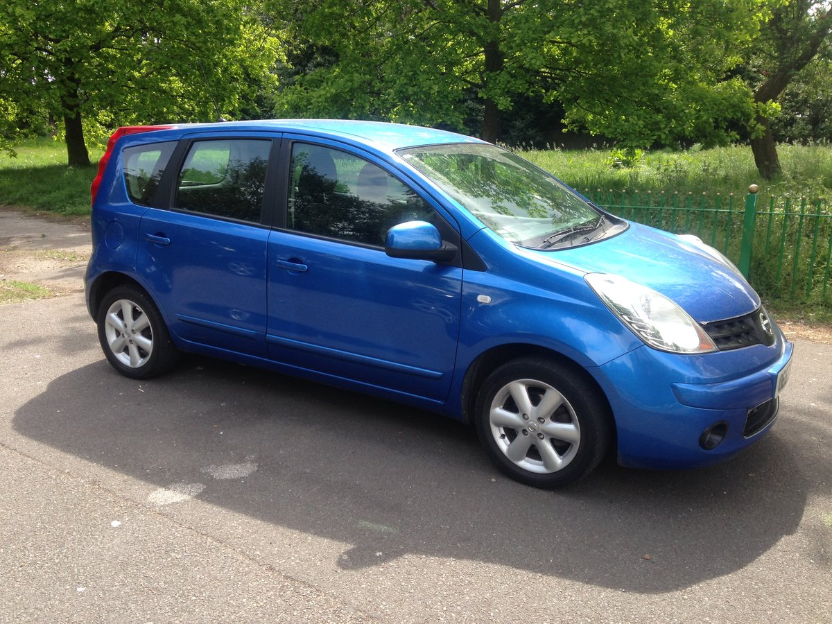 2008 Nissan note 1.4l, long mot & full service history SOLD (picture 2 of 6)