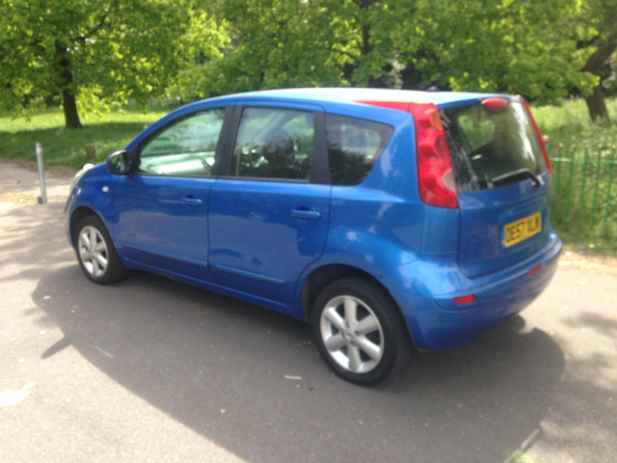 2008 Nissan note 1.4l, long mot & full service history SOLD (picture 3 of 6)