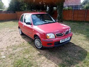 2001 Nissan Micra 1.0 Vibe 42,671 1 lady owner FSH